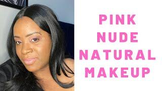 Pink Nude Natural Makeup