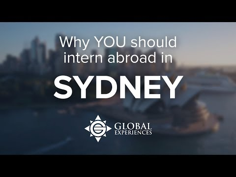 Why You Should Intern in Sydney, Australia | Global Experiences