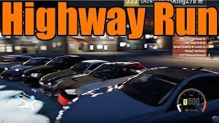 Forza Horizon 2 | Midnight Highway Run!