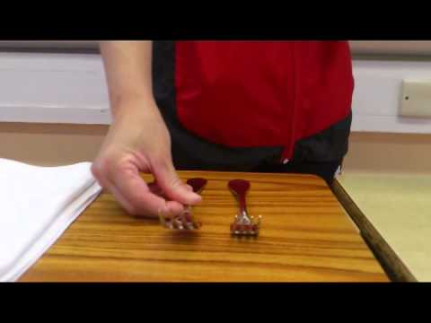 The Demonstration of Place Your Cutlery & Serve Your Customer Part 1
