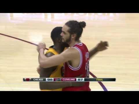 Chicago Bulls vs Cleveland Cavaliers 2014.1.22