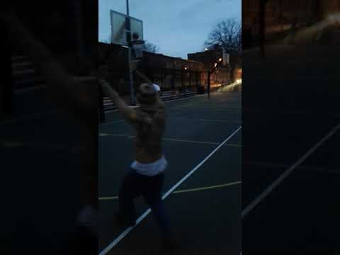 Baltimore hip hop artist killing on the basketball court up (Coverdale)