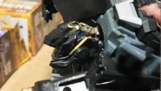 Ironhide Kills Sentinel prime (Transformers-stopmotion)