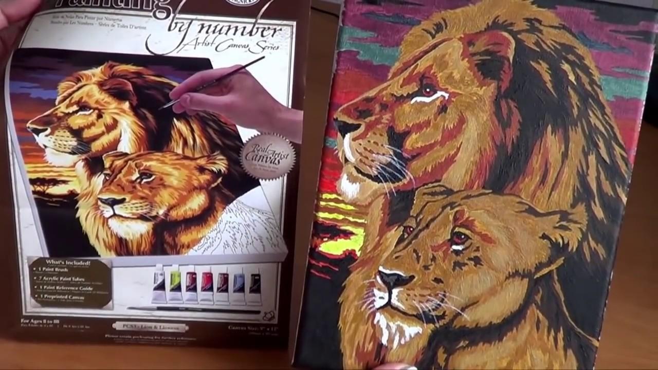 Покупайте наборы для раскрашивания картин по номерам в леонардо!.