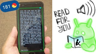How to make Android phone Read Your Kindle books