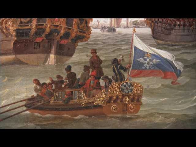 Documentary Het Scheepvaartmuseum (Maritime museum) Amsterdam The Netherlands HD Stock Broadcast