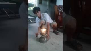 Cách đốt đèn măng xông