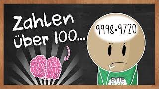 Kopfrechnen Multiplikation über 100