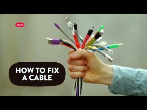 How to fix a cable
