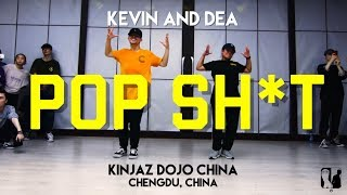POP SH*T DANCE AT KINJAZ DOJO CHINA @migos @qualitycontrolmusic || Kevin and Dea Choreography