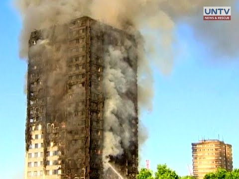 Philippine embassy in London confirms Filipinos among the injured in the Grenfell tower fire