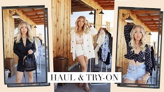 FASHION HAUL & TRY-ON AUGUST 2019 | Zaful, In The Style x Lorna Luxe, Lulus