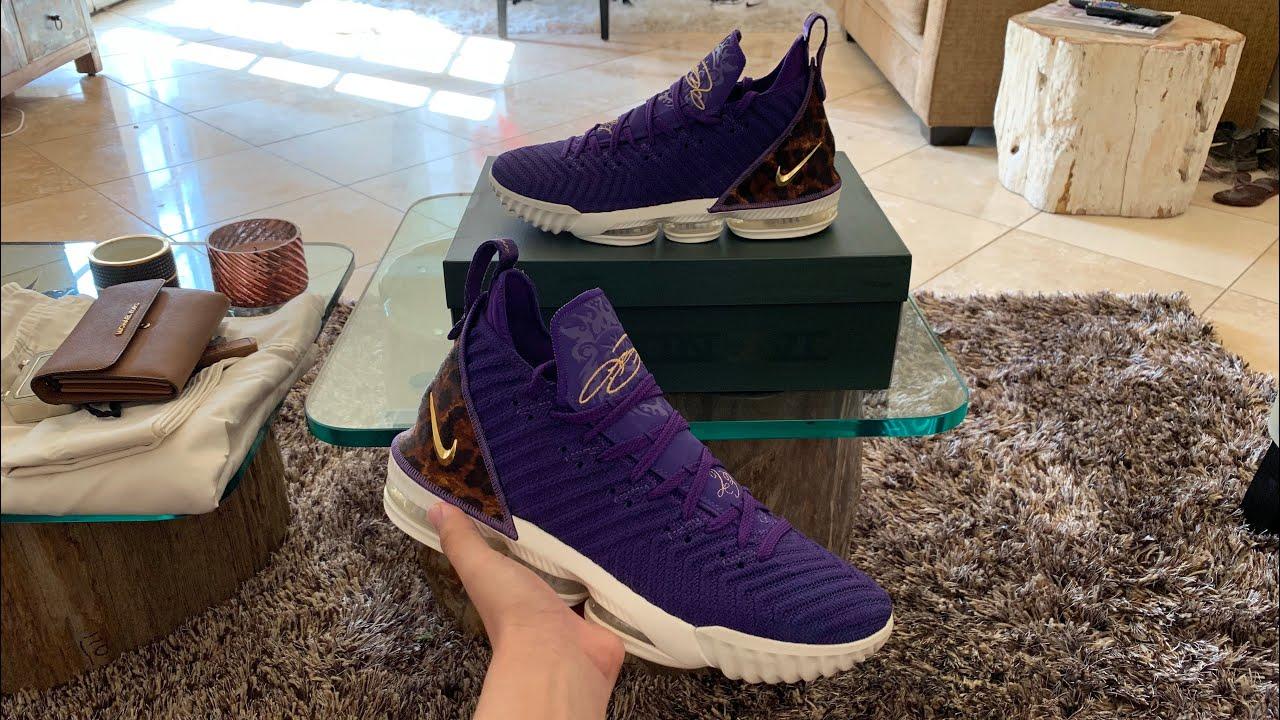 e6ec910d1e22 UNBOXING  Nike LeBron 16