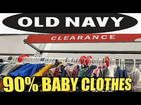 OLD NAVY SHOPPING, 90% OFF SALE BABY CLOTHES | 50% OFF STORE CLEARANCE | RUNNNNNN | IVYS COUPON CAMP
