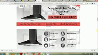 Best 5 Elica chimney In Market | किचन चिमनेब manual and auto clean 4500 - 11000