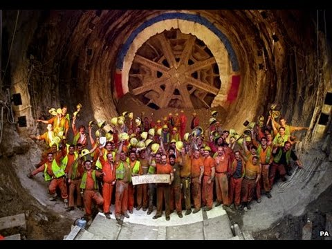 The Channel Tunnel Mega Construction ( An Engineering Feat)
