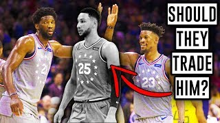 Should The Philadelphia 76ers TRADE Ben Simmons? - NBA Overreactions