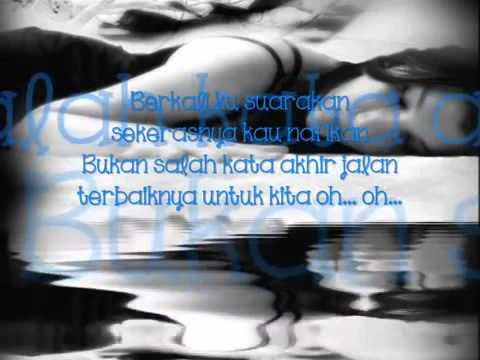 Azie ~melangkah terpaksa by lyrics~ MP4 360p