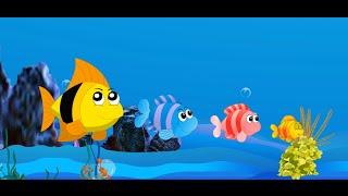 Les animaux | Comptines et chansons pour enfants | Les petits poissons dans l'eau  etc.