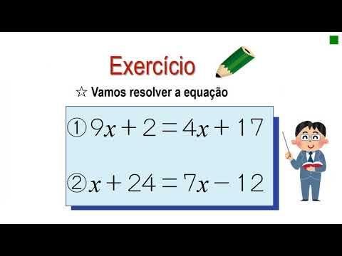 中1_方程式_移項して方程式を解く(ポルトガル語版)