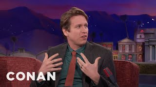 Pete Holmes Loves His Wife And Also Pizza  - CONAN on TBS