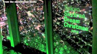 Tokyo Skytree Dream Christmas: Lighting Ceremony