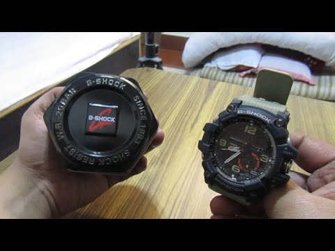 Unboxing - G Shock Watch Price 15,000rs (Amazon Buy) 1000 MudMaster