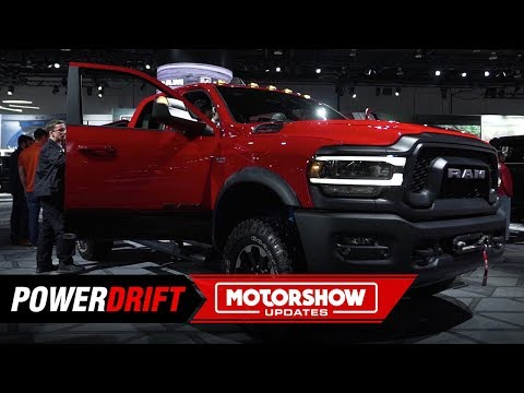 2019 Ram 2500 Heavy Duty Truck Showcased at 2019 Detroit Auto Show | Live | First Look