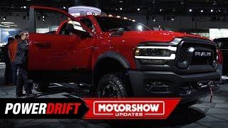 Ram 2500 Power Wagon : When size matters : 2019 Detroit Auto Show : PowerDrift