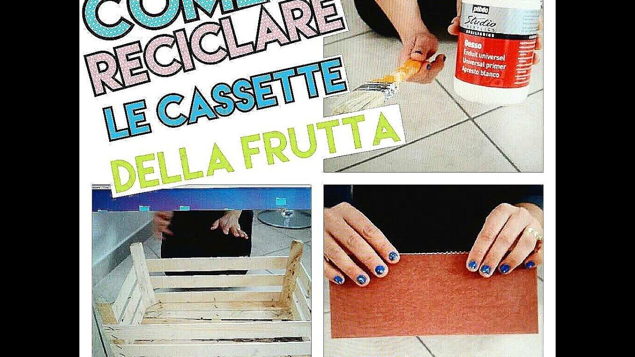 Cassette Della Frutta Legno come reciclare le cassette della frutta.due idee facili da realizzare!!!