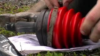 быстрый и лёгкий способ одеть хомут на пыльник шруса ВАЗ-09