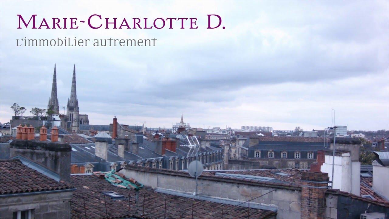 Immobilier prestige bordeaux marie charlotted youtube for Immobilier bordeaux et environs