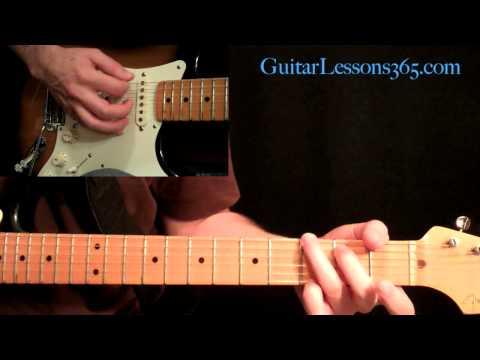 Guns N' Roses - Paradise City Guitar Lesson Pt.1 - Intro & Intro Solo