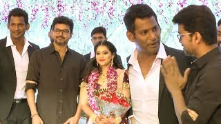 Actor Vishal's Sister Aishwarya & Kritish get Hitched!   FULL WEDDING VIDEO  TN 259 screenshot 4