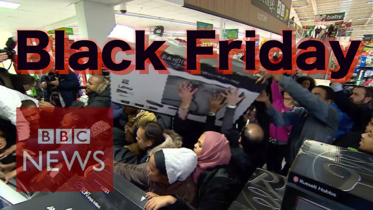 What Is Black Friday Bbc News Youtube