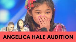 Angelica Hale: 9-Year-Old Singer Stuns the Crowd With Her Powerful Voice Reaction!