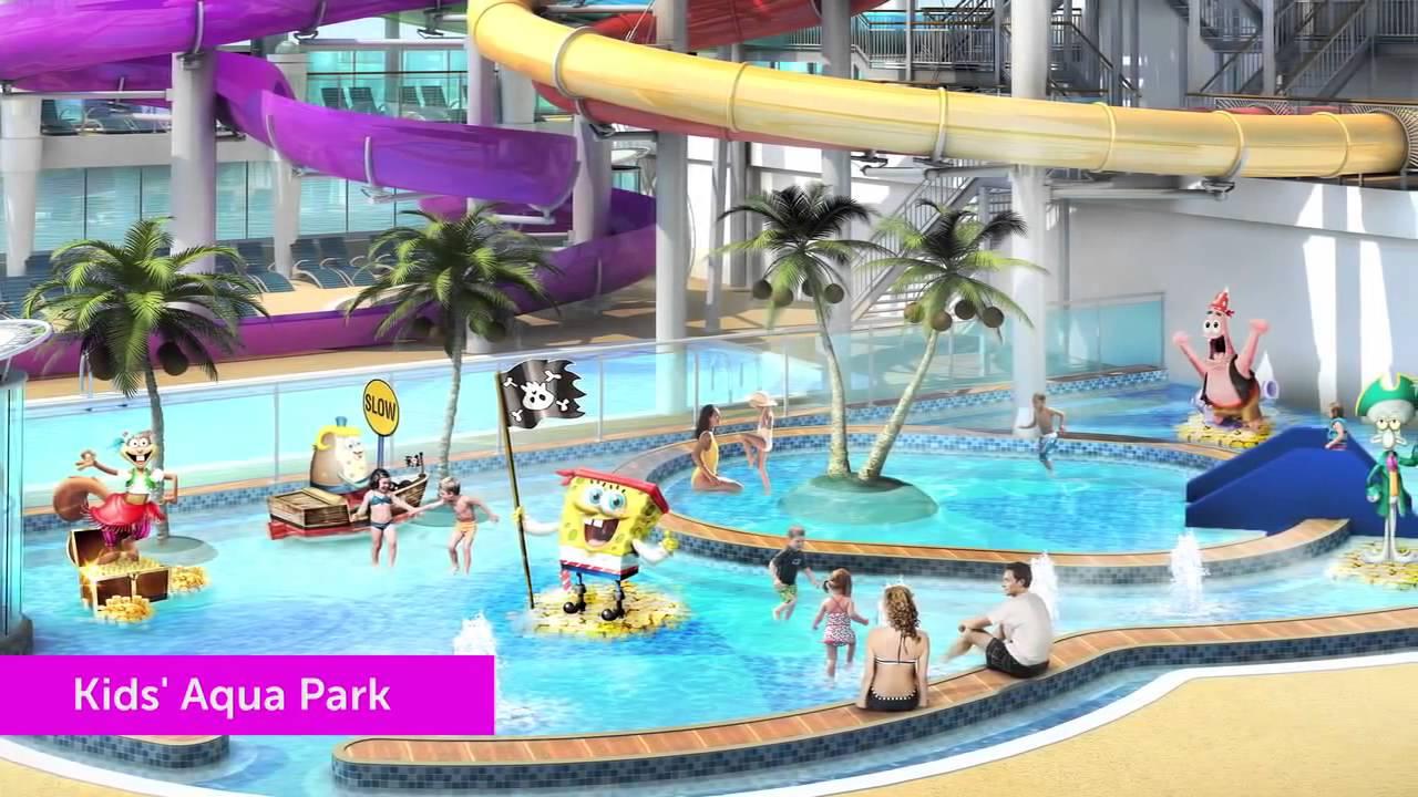 Nickelodeon Experience On Norwegian Cruise Line YouTube - Nickelodeon cruise ships
