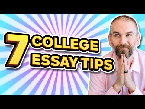 7 GREAT College Essay Tips To Help You Stand Out