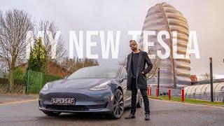 my New Tesla Model 3 Performance!