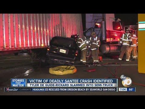 Victim of deadly Santee crash identified