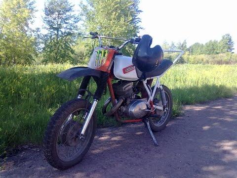 Мотоцикл Кроссовый иж Планета #10