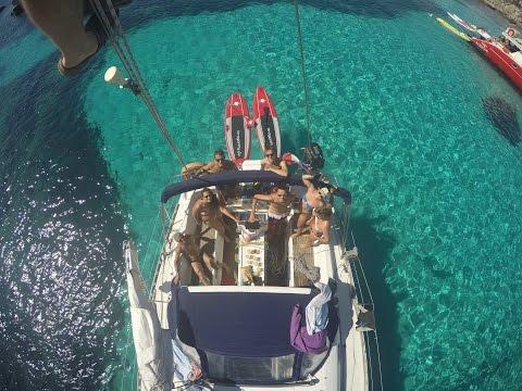 Sailing Trip Méditerranée 2016