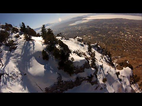 Speedflying Y Mountain Provo, Utah