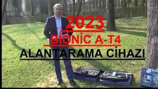 Alan Tarama cihazı,Kullanım Videosu, Fiyatları, Bionic AT-4 Eko paket, Altın bulucu,