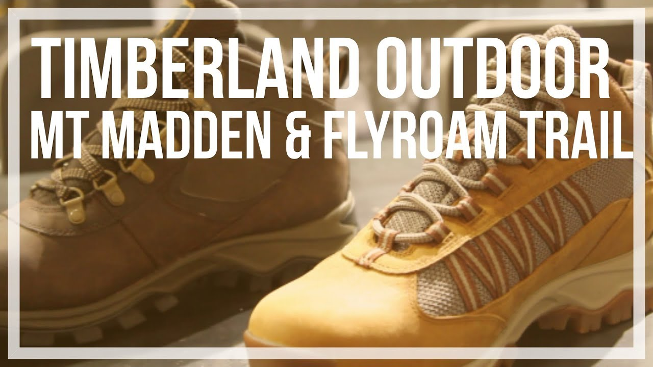 376c137d1 Timberland | Mt Maddsen Lite Mid Waterproof and Flyroam Trail Outdoor Hiking  Shoes
