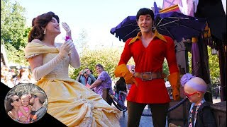 Gaston finds a flower girl for the wedding! *Did she really say yes!?* | Disneyland vlog #80