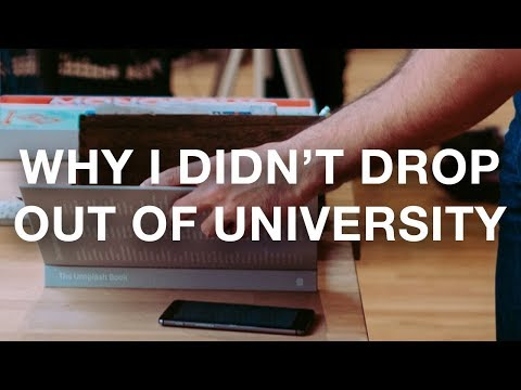 Why I didn't drop out of University • Real Talk