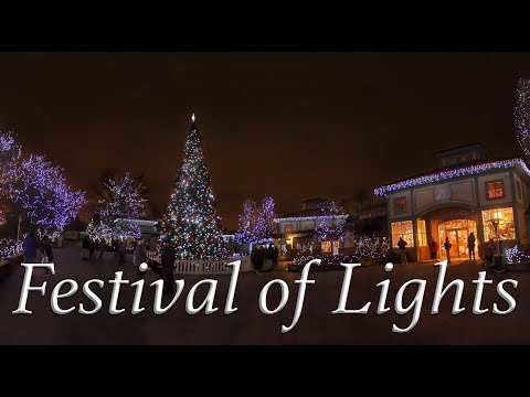 The Festival of Lights at the Cincinnati Zoo (Voted Best Zoo Lights)