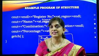 I PUC  | Computer Science | Structures-2