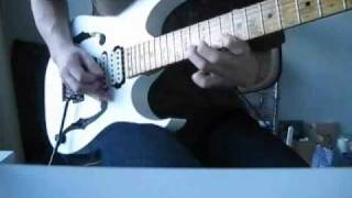 I tried to play this song. With my Ibanez PGM300(Paul Gilbert signa...